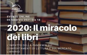 TAVOLA ROTONDA: 2020 IL MIRACOLO DEI LIBRI